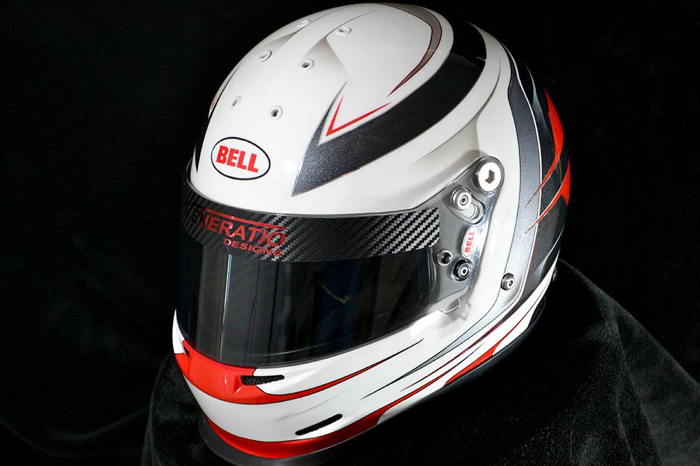 Custom Painted Bell Gp2 Custom Racing Helmets By