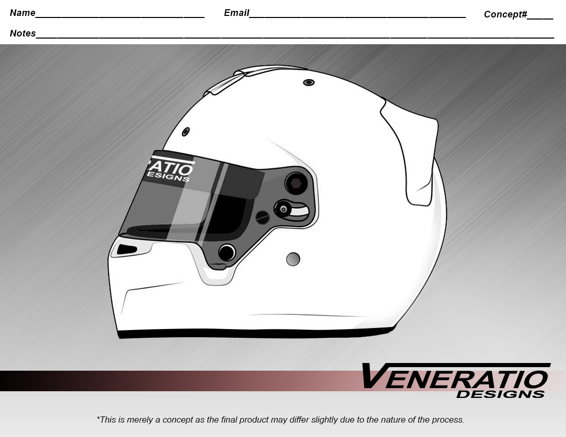 Custom Helmet Design Templates Veneratio Designs