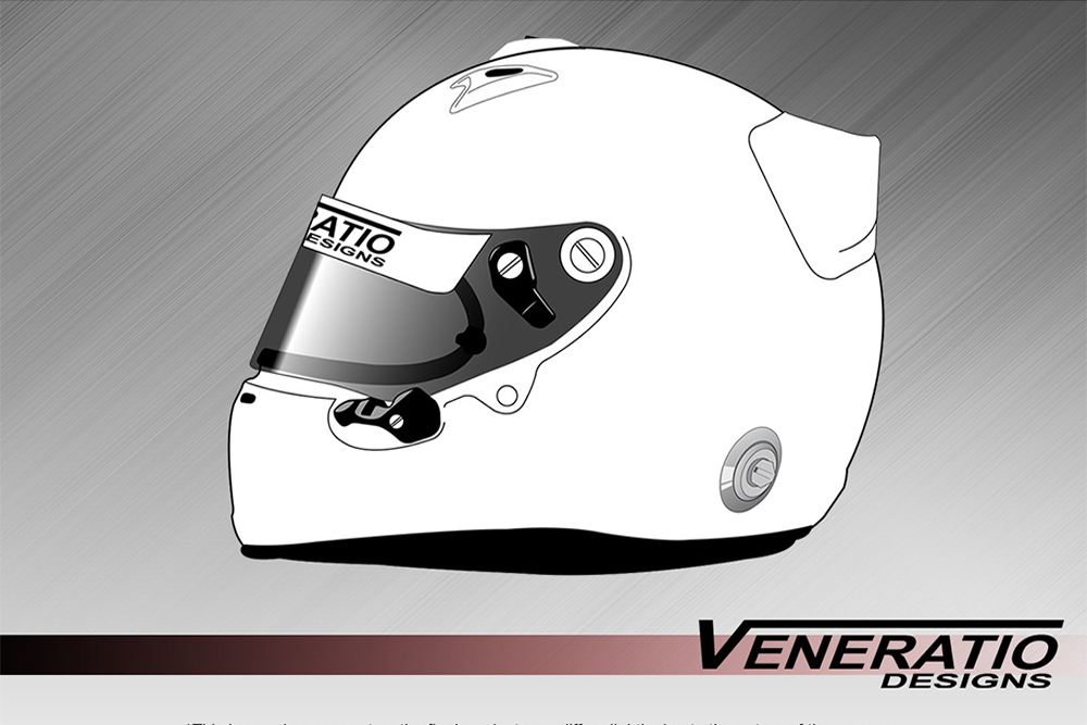 Arai GP-6 Helmet Template