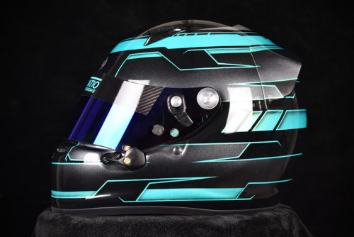 Custom Painted Arai SK-6 By | Custom Helmet Painting by Veneratio Designs