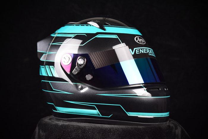 Custom Painted Arai SK-6 By | Custom Helmet Painting by Veneratio Designs
