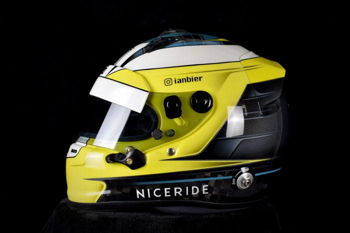 Arai gp-6 custom painted racing helmet by veneratio designs