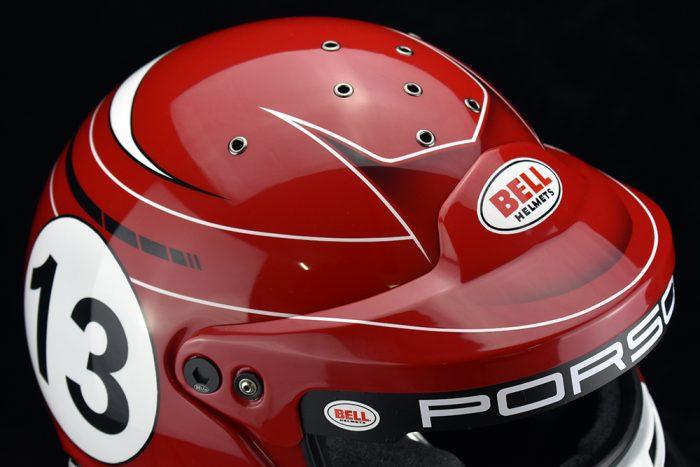 Porsche Racing Helmet Carmine Red Veneratio Designs