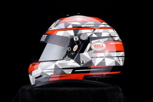 Custom Painted Racing Helmets and Design by Veneratio Designs