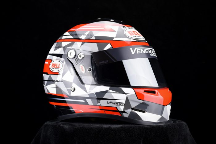 Custom Painted Racing Helmets and Design by Veneratio Designs