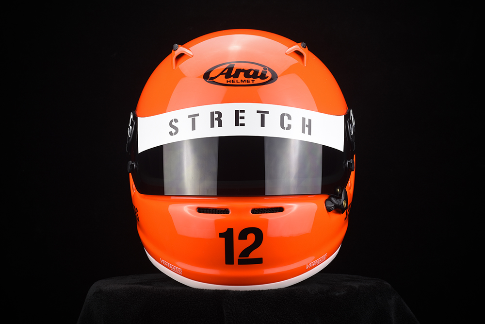 Custom Painted Arai Sk 6 Test Helmet By Veneratio Designs