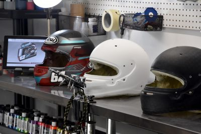 Veneratio Designs Custom Helmet Painting