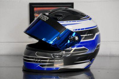 Custom Painted HJC Helmet by Veneratio Designs
