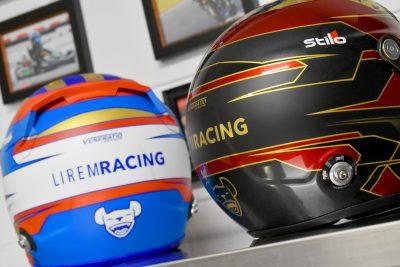 Custom Painted Racing Helmets by Veneratio Designs