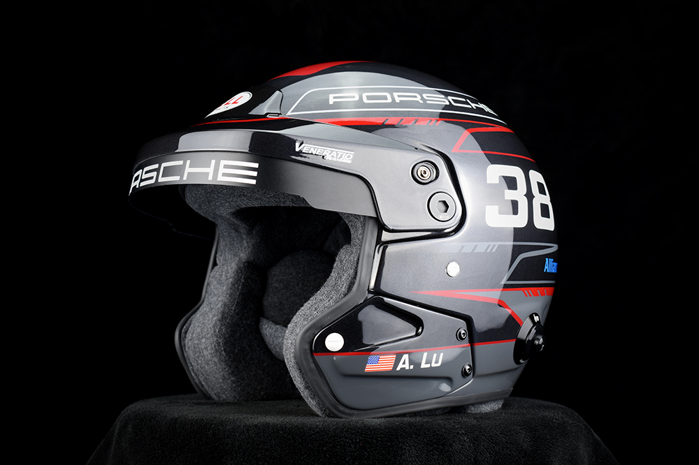 Custom Painted Bell Mag-9 Racing Helmet by Veneratio Designs