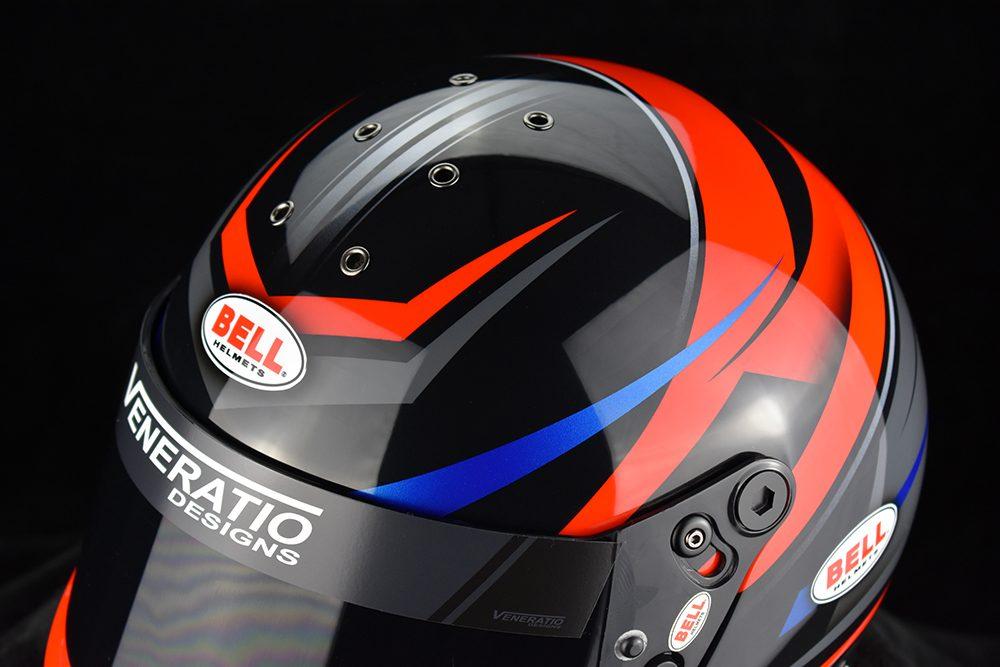 Custom Painted Bell GP2 by Veneratio Designs
