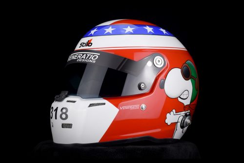 Custom Painted Stilo ST5 with Snoopy Character by Veneratio Designs