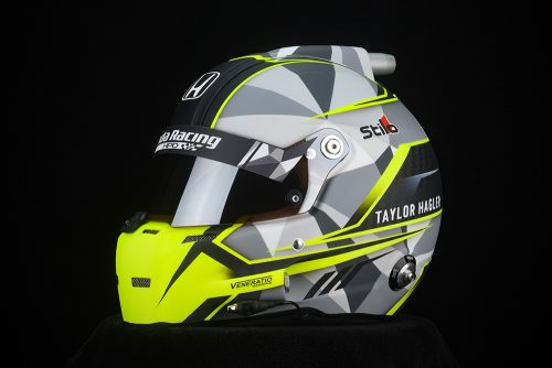 Custom Painted Stilo ST5 8860 Racing Helmet by Veneratio Designs