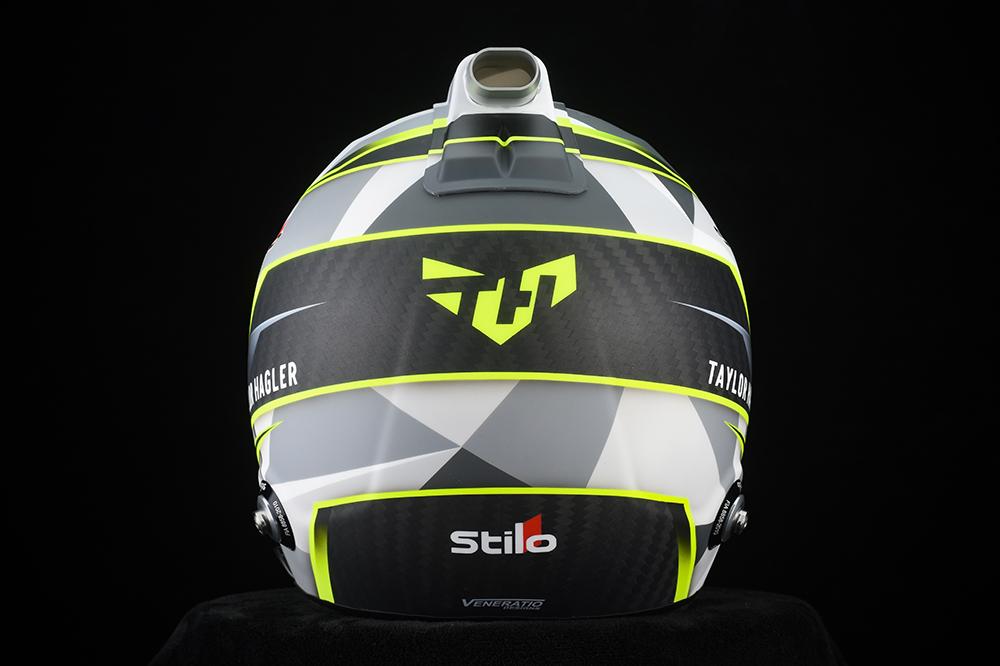 Custom Painted Stilo ST5 8860 Racing Helmet by Veneratio Designs
