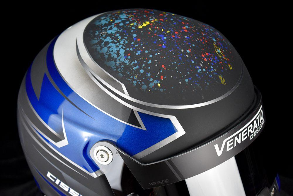 Custom Painted Stilo ST5 GT Racing Helmet