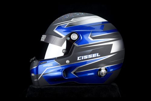 Stilo ST5 GT Racing Helmet Painted by Veneratio Designs