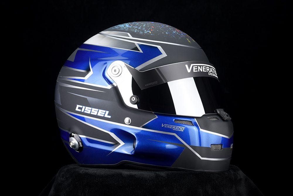 Stilo ST5 GT Racing Helmet Painted by Veneratio Designs