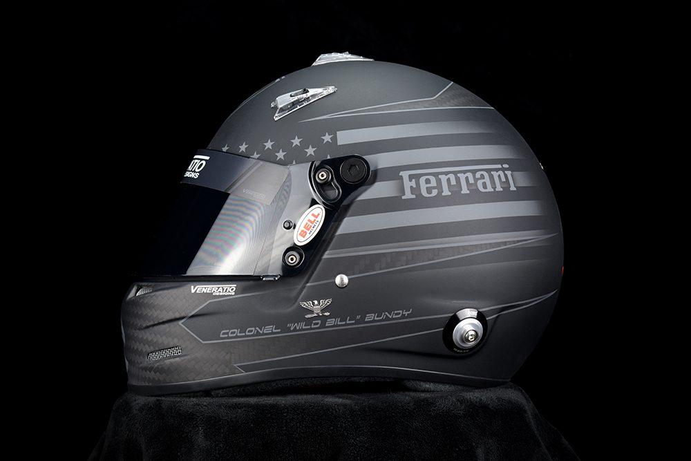 Custom Painted Bell M8 Racing Helmet