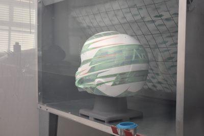 Custom Racing Helmets