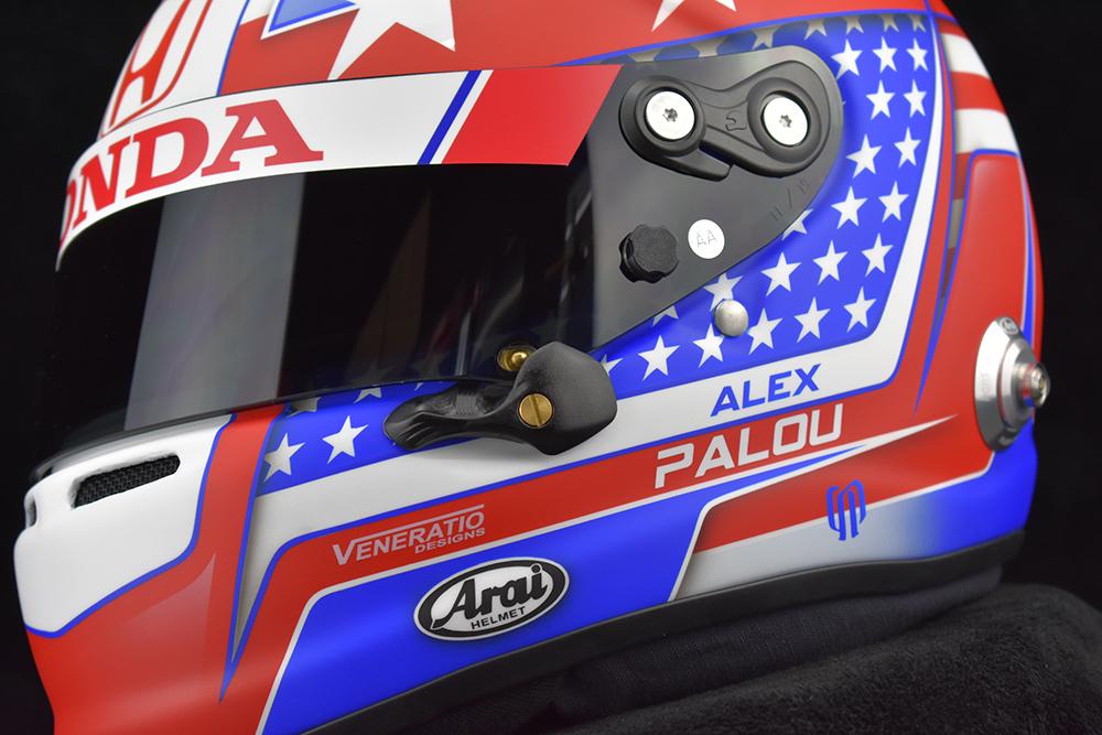 Alex Palou's Indy500 helmet
