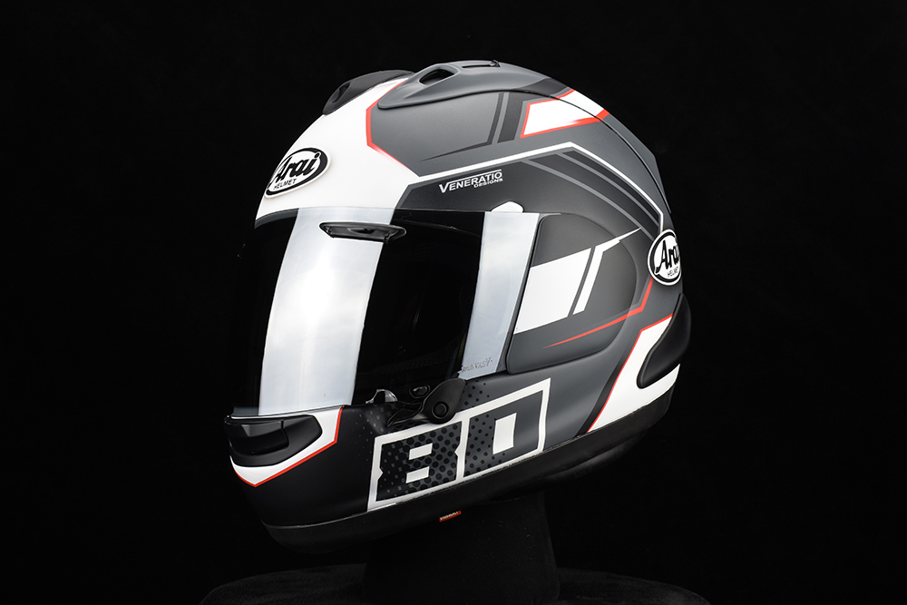Custom Painted Arai Corsair-X by Veneratio Designs