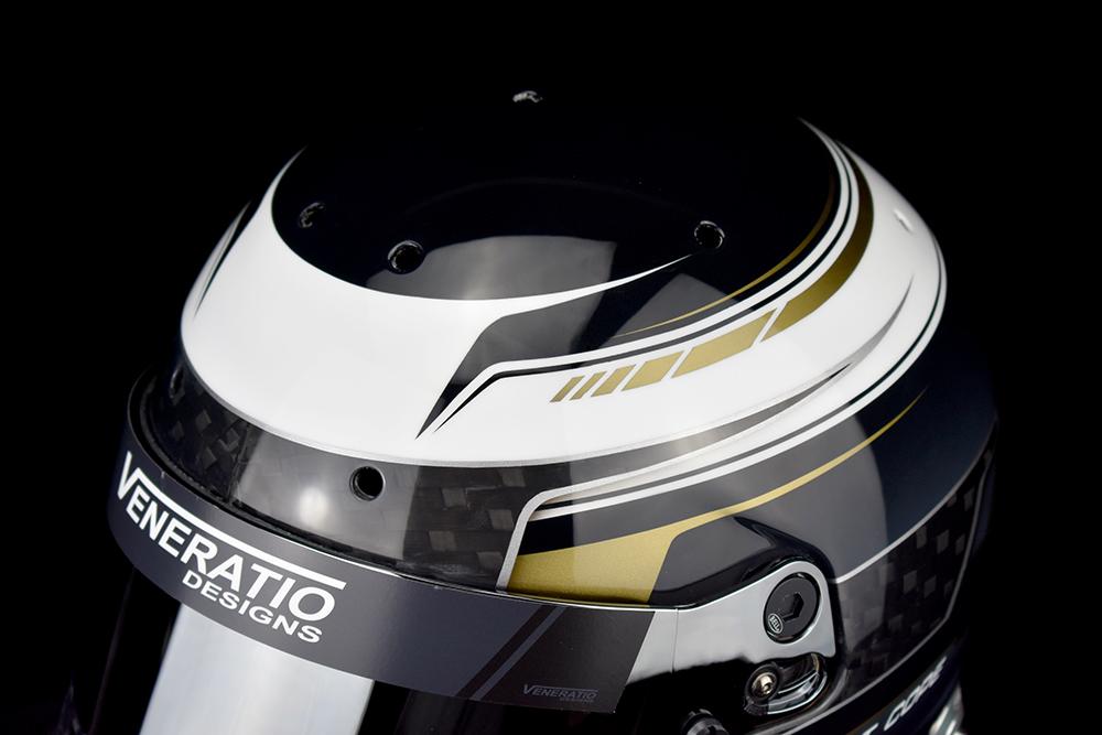 Custom painted Bell RS7 by Veneratio Designs