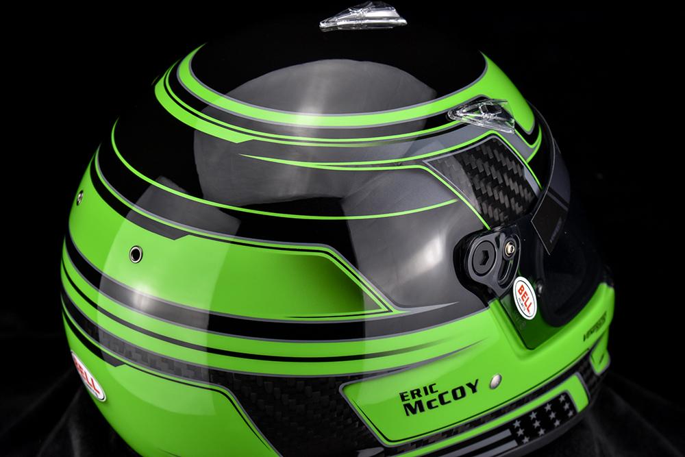 Custom painted Bell M8 Carbon by Veneratio Designs